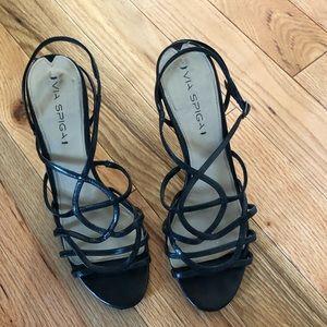 Strapped Via Spiga 3 1/2 inch heel